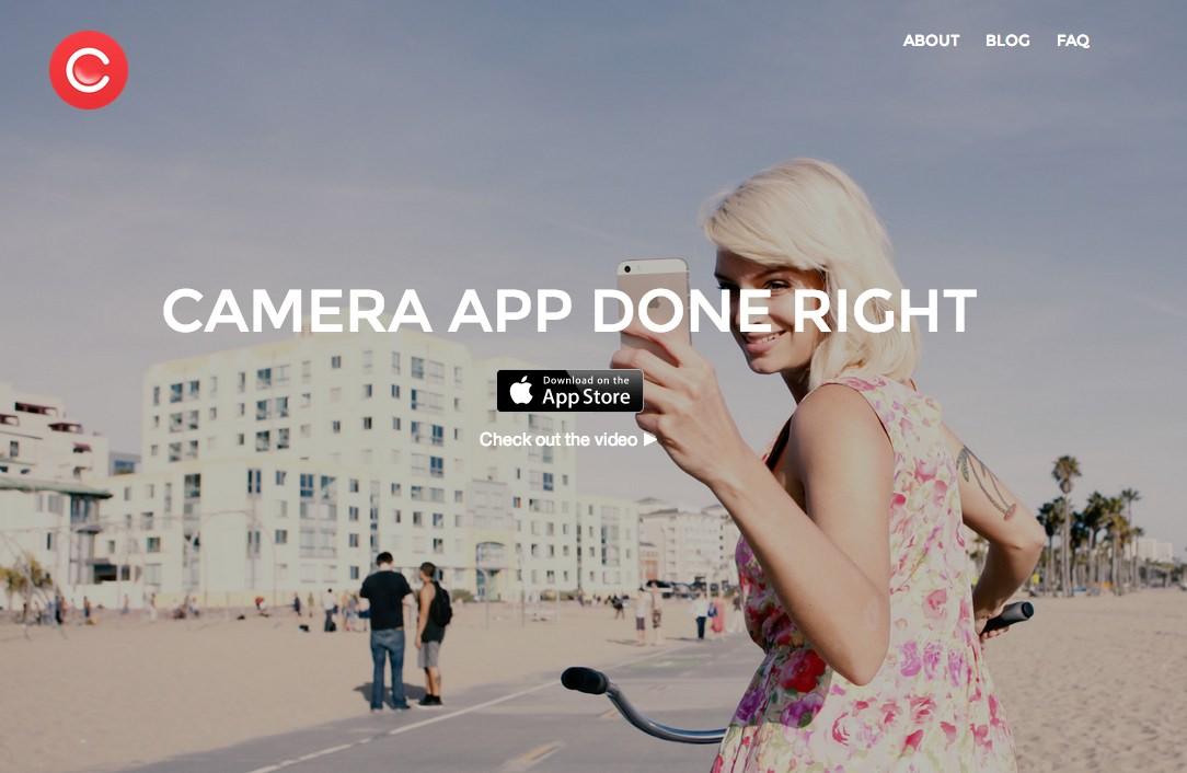 「Camu」~写真・動画撮影から加工、共有まで全てが1つのアプリで完結!